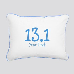 Customize BLUE 13.1 Rectangular Canvas Pillow