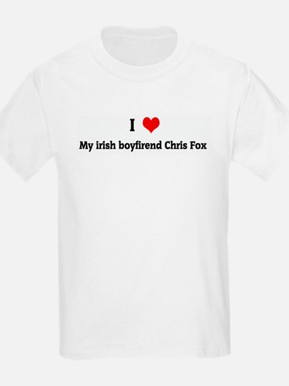 I Love My irish boyfirend Chr T-Shirt