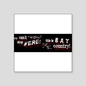 batcountrybumper Sticker