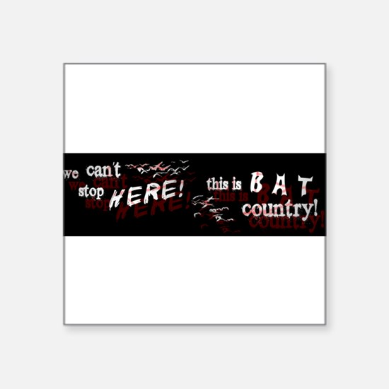 batcountrybumper.jpg Sticker