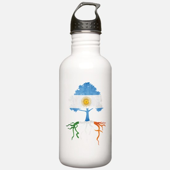 Argentina Irish Roots Water Bottle