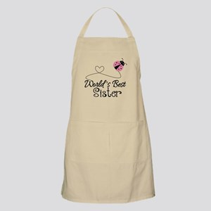 Worlds Best Sister Apron