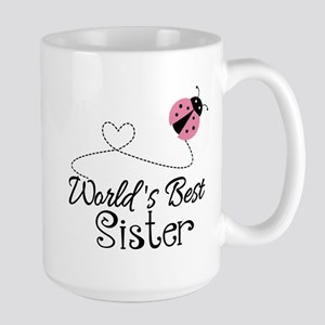 Worlds Best Sister Large Mug
