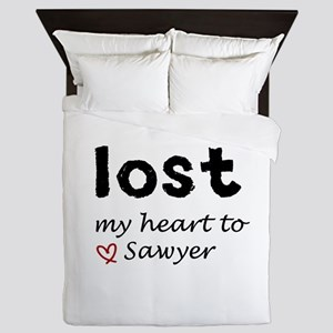 11x11 lost my heart to sawyer heart2 Queen Duv