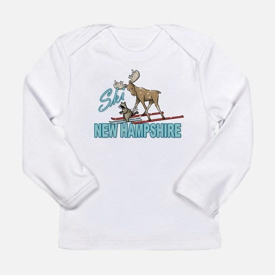 Ski New Hampshire Long Sleeve Infant T-Shirt