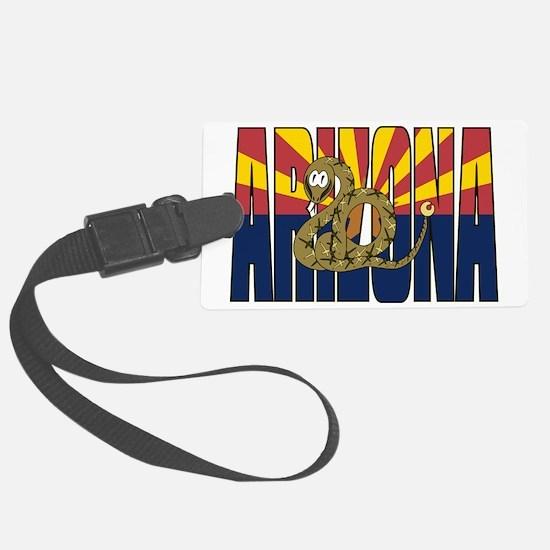 Ridge-nosed Rattlesnake Arizona  Luggage Tag