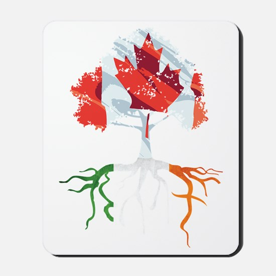 Canada Irish Roots Mousepad