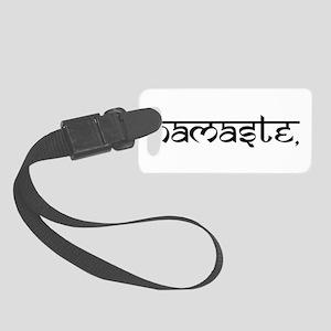 Namaste, Yoga Small Luggage Tag
