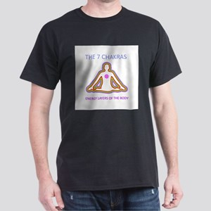 The seven chakras with their respective co T-Shirt