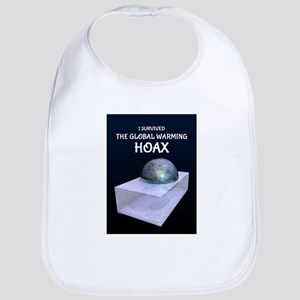 I Survived The Global Warming Hoax Bib