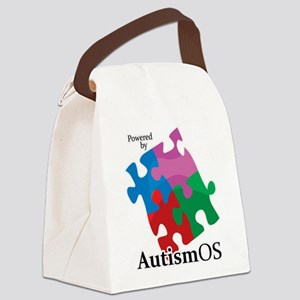 Autism OS Canvas Lunch Bag