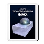 I Survived The Global Warming Hoax Mousepad