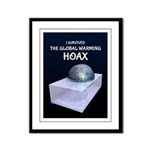 I Survived The Global Warming Hoax Framed Panel Pr