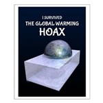I Survived The Global Warming Hoax Posters
