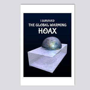 I Survived The Global Warming Hoax Postcards (Pack