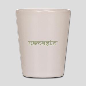 Namaste, Yoga Shot Glass