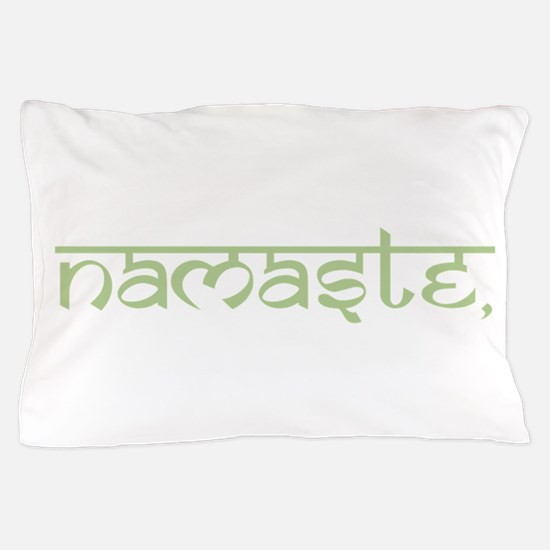 Namaste, Yoga Pillow Case