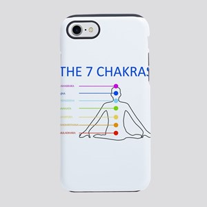The seven chakras with their r iPhone 7 Tough Case