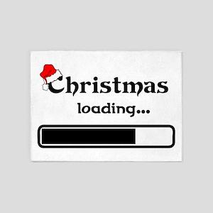 Christmas Loading 5'x7'Area Rug