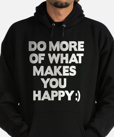 Do More Thinks Hoodie