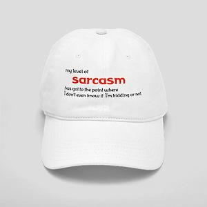 Level of Sarcasm Baseball Cap