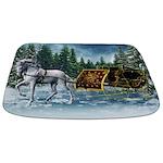 Christmas Sleigh Bathmat