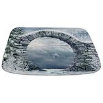 Ancient Stone Gate Bathmat