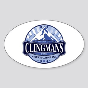 Clingmans Dome North Carolina Tennessee Sticker