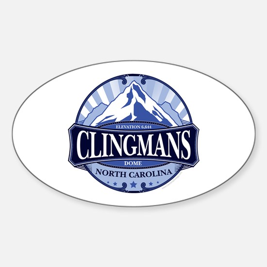 Clingmans Dome North Carolina Tennessee Decal