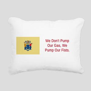 New Jersey Humor #3 Rectangular Canvas Pillow