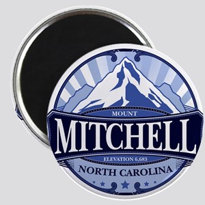 Mount Mitchell North Carolina Magnets