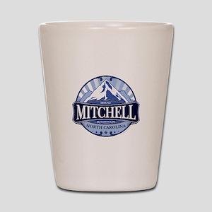 Mount Mitchell North Carolina Shot Glass