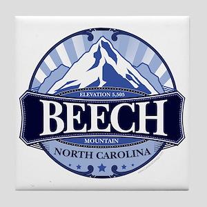 Beech Mountain North Carolina Tile Coaster