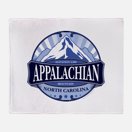 Appalachian Mountain North Carolina Throw Blanket
