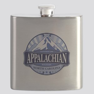 Appalachian Mountain North Carolina Flask