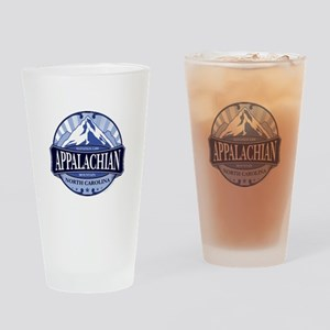 Appalachian Mountain North Carolina Drinking Glass
