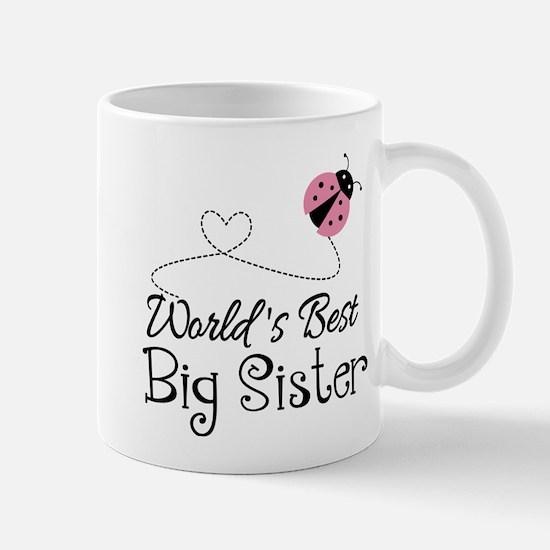 Worlds Best Big Sister Mug