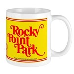 Rocky Point Park Roller Coaster Logo Mugs