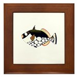 Clown Triggerfish Framed Tile