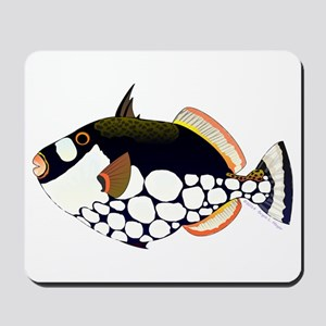 Clown Triggerfish Mousepad