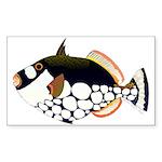 Clown Triggerfish Sticker