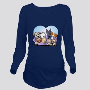 The Littlest Souls Long Sleeve Maternity T-Shirt