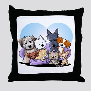 The Littlest Souls Throw Pillow