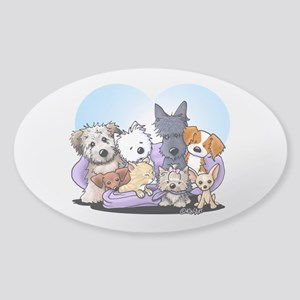 The Littlest Souls Sticker (Oval)