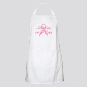 Save Lives Not Boobs Apron