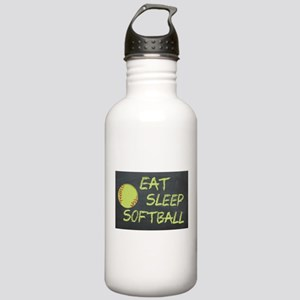 eat, sleep, softball Stainless Water Bottle 1.0L