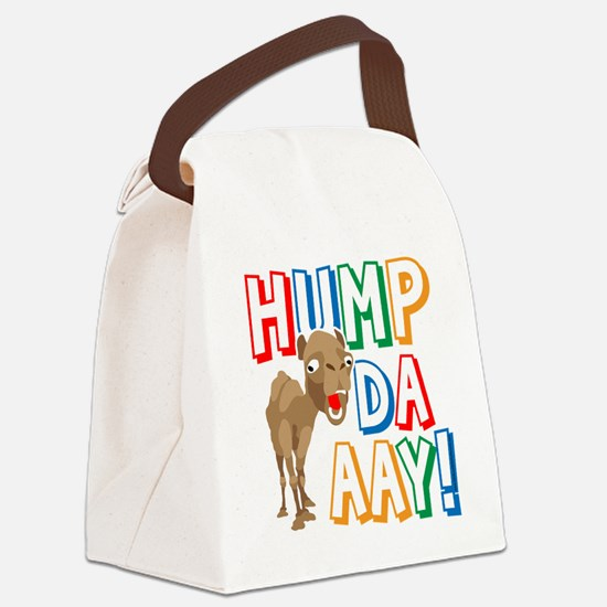 Humpdaaay Wednesday Canvas Lunch Bag