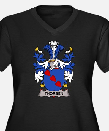 Thorsen Family Crest Plus Size T-Shirt
