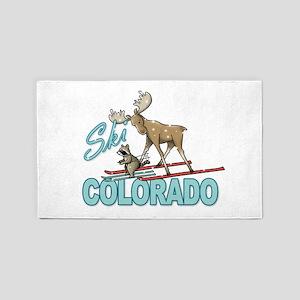 Ski Colorado 3'x5' Area Rug
