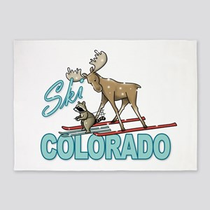 Ski Colorado 5'x7'Area Rug
